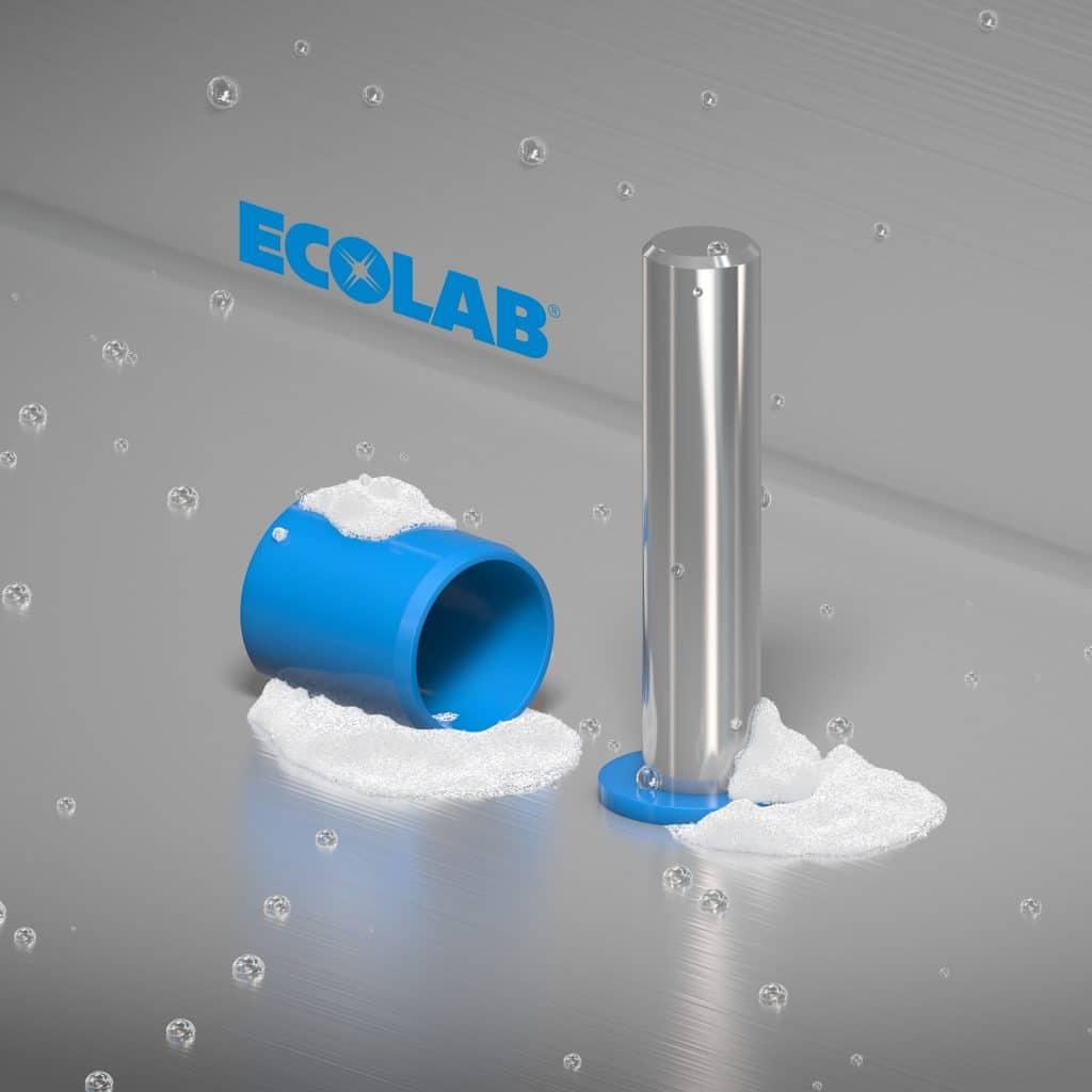 Read more about the article Résistance chimique aux produits de nettoyage industriels Ecolab
