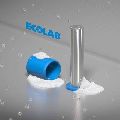 Résistance chimique aux produits de nettoyage industriels Ecolab