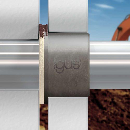 joints en feutre protègent les paliers lisses et les arbres dans les machines agricoles et les engins de chantier